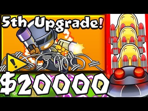 connectYoutube - *BRAND NEW* AUTOMATIC EXPLOSIVES TOWER - BLOONS TD BATTLES MOD