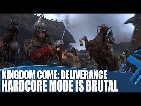 Kingdom Come: Deliverance's New Hardcore Mode is Brutal - New PS4 Gameplay