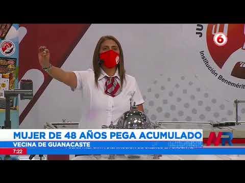 Vecina de Guanacaste es la feliz ganadora del acumulado de 540 millones