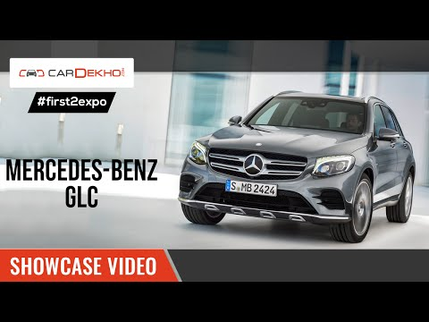 #first2expo : Mercedes GLC | Showcase Video | CarDekho@AutoExpo2016