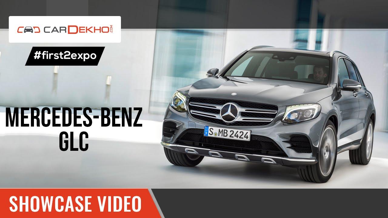 #first2expo : Mercedes GLC | Showcase Video | CarDekho@AutoExpo2016