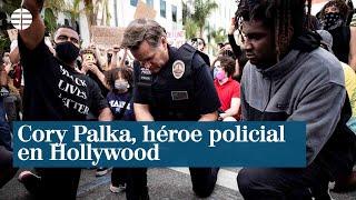 Cory Palka, héroe policial en Hollywood