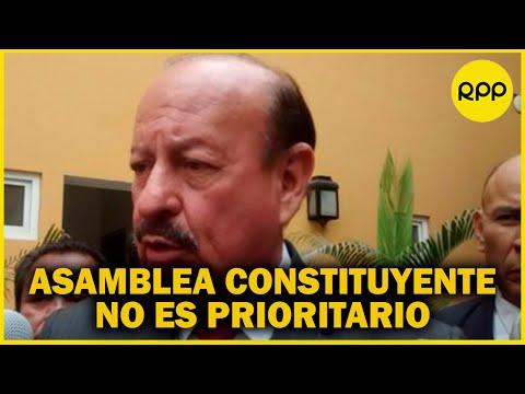 """Wilmar Elera de Somos Perú """"expresa su preocupación"""" por conformación del gabinete Bellido"""