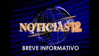 Breve informativo Noticias 12