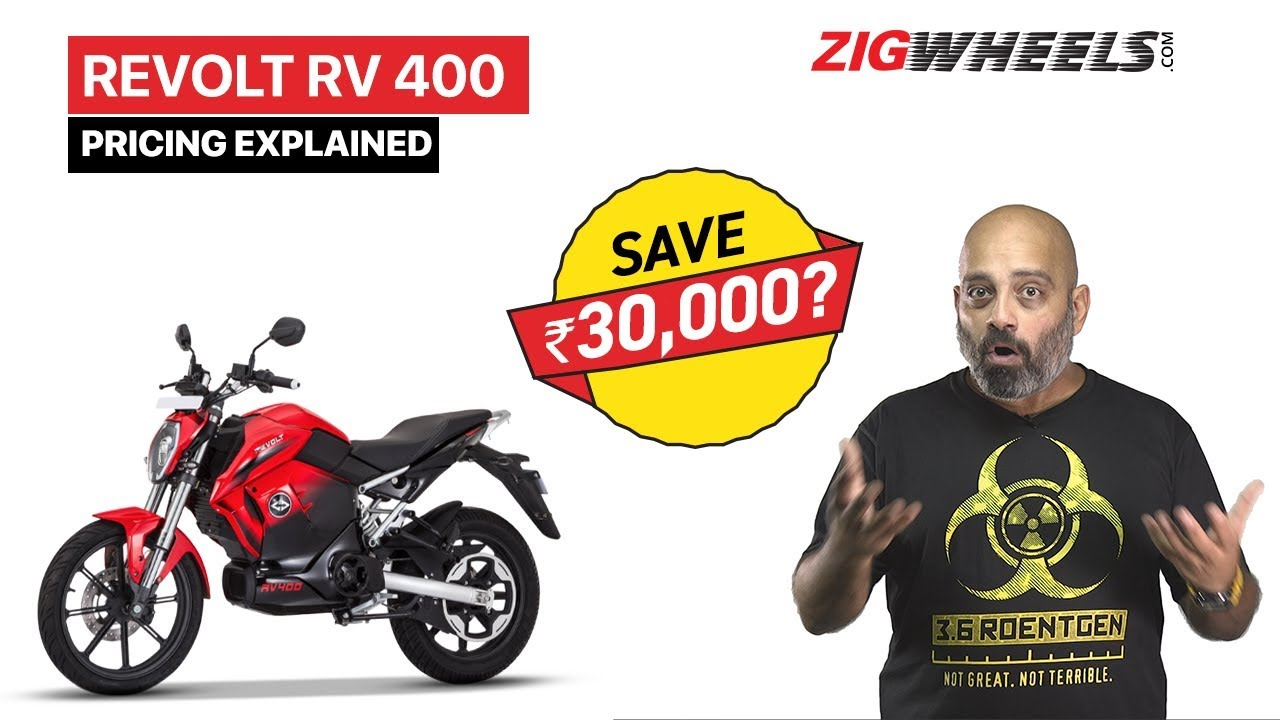 Revolt RV 400 Pricing Plan Explained - Is It Cheaper Than Petrol?
