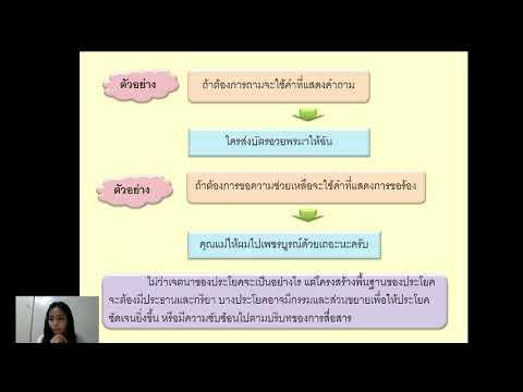 ภาษาไทยม.๕-เรื่องส่วนประกอบของ