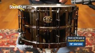 Ludwig 8x14 Black Magic Brass Snare Drum