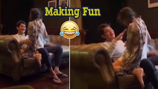 Mahesh Babu Playing Funny Game With His Daughter Sithara - Telugu Film News | Latest Tollywood News - TFPC
