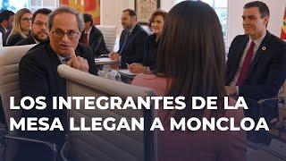 DIRECTO   Sánchez y Torra afrontan la primera reunión de la mesa de diálogo