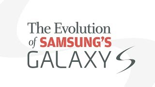 The evolution of Samsung's Galaxy S
