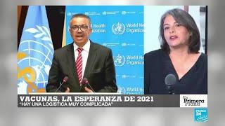 El mundo centra sus esperanzas en las vacunas para poner fin a la pandemia