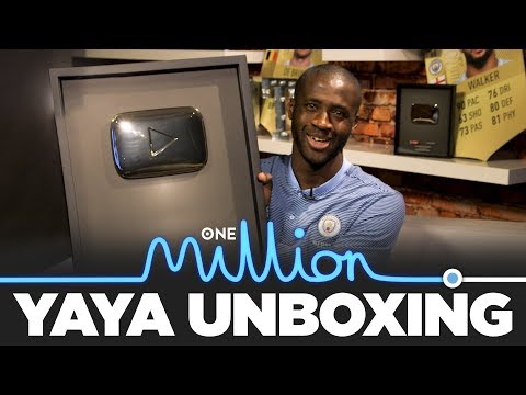 YAYA UNBOXES 1 MILLION SUBS GOLD BUTTON