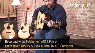 Eastman AC720 Acoustic Guitar Demo