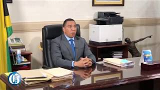 WATCH: Prime Minister Holness Urges Jamaicans To Avoid Panic Buying