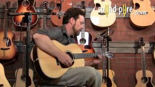 Collings 0002H Acoustic Guitar Demo #18289
