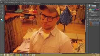 Photoshop CS6 Tutorial - 84 - Sharpen, Blur, and Smudge Tools