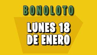 Resultados Bonoloto del lunes 18 de Enero de 2021