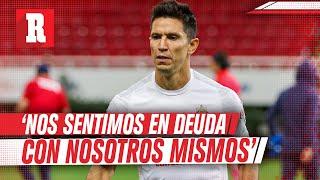 Jesús Molina aseguró  que la primera mitad del torneo ha sido mala para Chivas