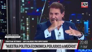 Luis Novaresio mano a mano con Ritondo - Dicho Esto (19/03/2021)