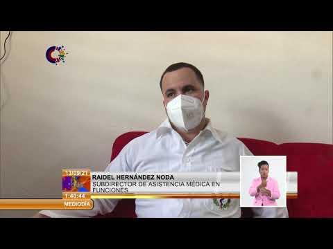 Cuba/COVID-19: Garantizan condiciones para vacunación en edades pediátricas en Calimete