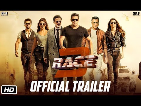 Race 3 | Official Trailer | Salman Khan | Remo D'Souza | Releasing on 15th June 2018 | #Race3ThisEID
