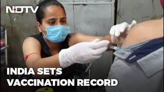 Covid-19 Vaccine: India Administers Over 84 Lakh Jabs In 1 Day - NDTV