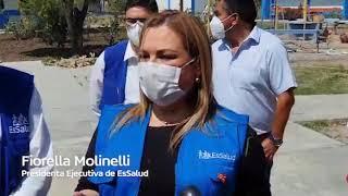 EsSalud habilita Hospital de Tumán para atender pacientes COVID-19 de Lambayeque
