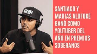 Santiago Matías Alofoke gana Youtuber del año en premios soberanos 2021