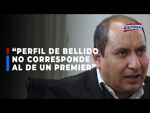 Arce afirma que designación de Guido Bellido demuestra el poder bajo la sombra de Vladimir Cerrón