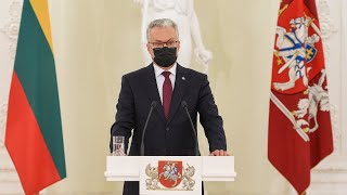 Prezidentas Gitanas Nausėda pristato Gerovės Lietuvos viziją
