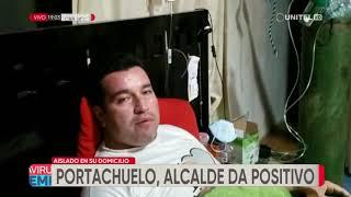 Alcalde de Portachuelo da positivo a Covid-19 y se mantiene aislado
