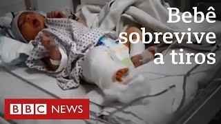 Recém-nascida sobrevive após levar dois tiros em ataque no Afeganistão