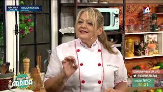 Vamo Arriba - Salsa rosa y peras al vino tinto
