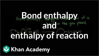 bond enthalpy and enthalpy of reaction