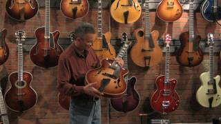 John Buscarino Discussing the Corey Christiansen Guitar (HD)