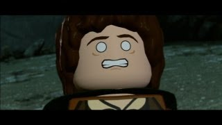 LEGO Lord of the Rings Walkthrough Part 14 - The Return of the King - Cirith Ungol