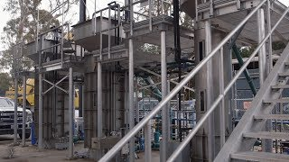 New Stanford plant tests energy-saving way to treat wastewater