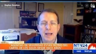 Stephen Donehoo en La Tarde de NTN24