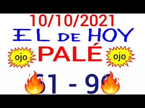NÚMEROS PARA HOY 10/10/21 DE OCTUBRE PARA TODAS LAS LOTERÍAS...!! Números reales 05 para hoy...!!