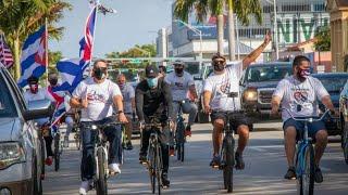 BICICARAVANA #8 EN MIAMI POR LA FAMILIA CUBANA