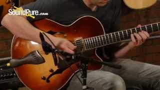 Buscarino Artisan Archtop Electric Guitar Demo