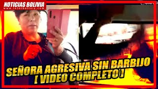 ???? SEÑORA AGREDE A PERIODISTAS POR PEDIR QUE USE EL BARBIJO [ VIDEO COMPLETO ]