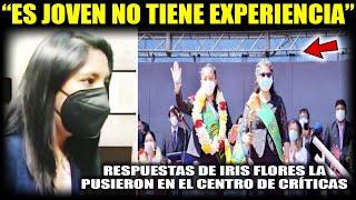 Fuertes Críticas a Eva Copa por designar a la joven Iris Flores Presidenta del concejo a los 20 años