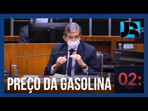 Plenário da Câmara questiona presidente da Petrobras sobre escalada dos preços dos combustíveis