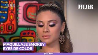 Maquillaje Smokey Eyes de color | Mujer