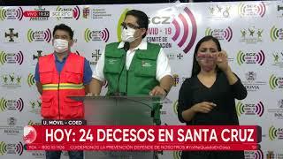632 nuevos casos elevan a 21.190 los contagios en Santa Cruz