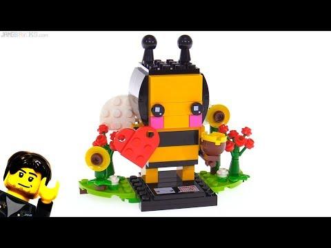 connectYoutube - LEGO Brickheadz Valentine's Bee review ❤️ 40270