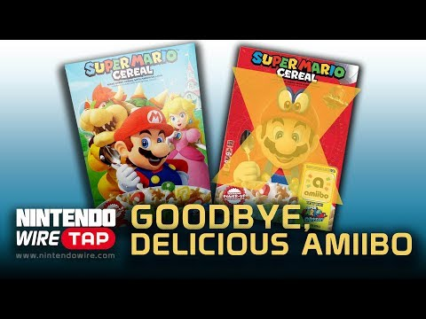 connectYoutube - Super Mario Cereal Dumps amiibo Support   Nintendo Wiretap