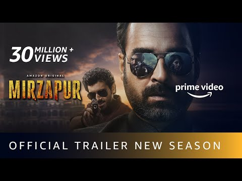 MIRZAPUR S2 - Official Trailer | Pankaj Tripathi, Ali Fazal, Divyenndu | Amazon Original |Oct23