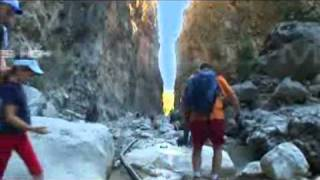 Samaria Gorge: The longest gorge in Europe